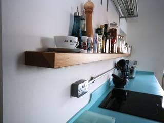 Bespoke 1950's inspired kitchen by Redesign Еклектичний