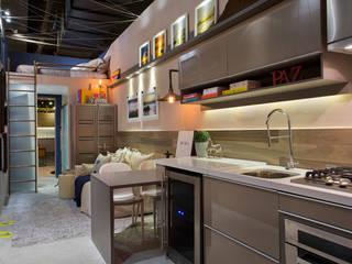 Mini Apê Cozinhas modernas por Paula Werneck Arquitetura Moderno