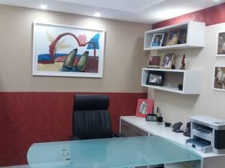 Oficinas de estilo ecléctico de Duecad - Arquitetura e Interiores Ecléctico
