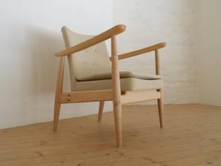 chair & sofa: 浅村家具製作所が手掛けた現代のです。,モダン