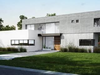 Casa Country Casas modernas: Ideas, imágenes y decoración de DOD studio Moderno