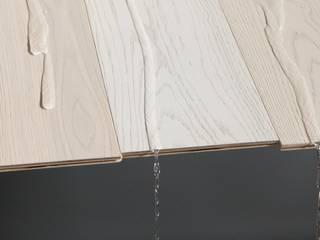 Lavori Paredes y suelos de estilo moderno de parquet sartoriale Moderno