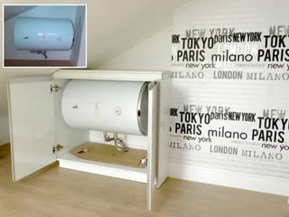 Reforma Integral en un ático (mobiliario de cocina) de Grupo Construktiva