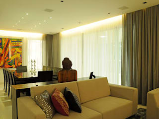Living room by Politi Matteo Arquitetura,