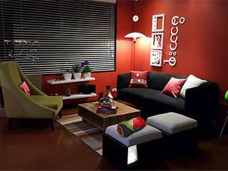 Livings de estilo moderno por Omar Plazas Empresa de  Diseño Interior y Decoración