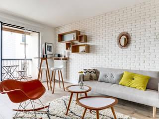 Salas de estilo moderno de Transition Interior Design Moderno