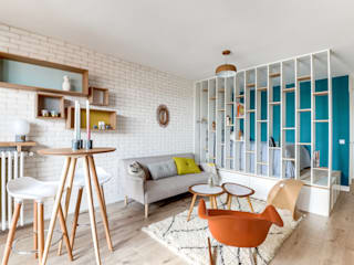 Salas modernas de Transition Interior Design Moderno
