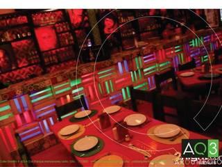 La Cantina San Luis: Bares y discotecas de estilo  por AQ3 Arquitectos
