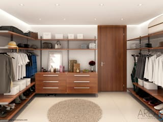 Morano Mare - Vestidor: Vestidores de estilo  por Area5 arquitectura SAS