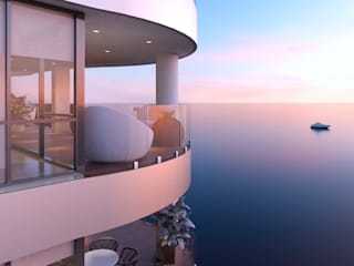 Patios by Area5 arquitectura SAS, Modern