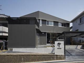 一級建築士事務所アトリエm Modern houses Ceramic Grey