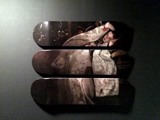 """Triptyque """"Le kimono"""" par LILIBOARD Moderne"""