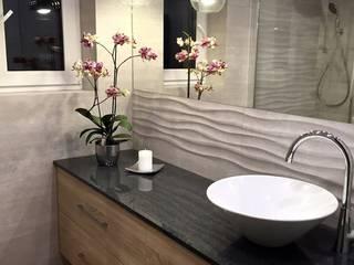 Pracownia Projektowania Wnętrz Karolina Czapla Modern style bathrooms
