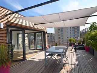 Rooftop architecte: Terrasse de style  par RM Architecte
