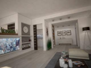HOUSE MZ:  in stile  di Ivan Rivoltella