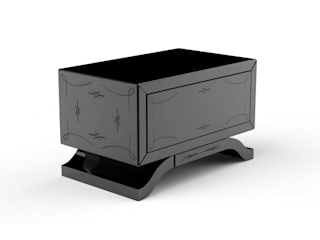 METROPOLITAN Nightstand By Boca do Lobo por Be-Luxus Moderno