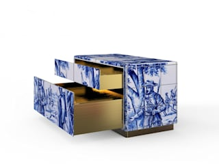 HERITAGE Nightstand By Boca do Lobo por Be-Luxus Clássico