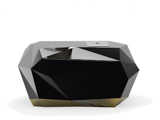 DIAMOND Nightstand By Boca do Lobo por Be-Luxus Moderno