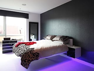 Bedroom design:  Bedroom by Quirke McNamara