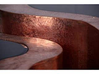 WAVE Table (Big) copper By Boca do Lobo por Be-Luxus Moderno