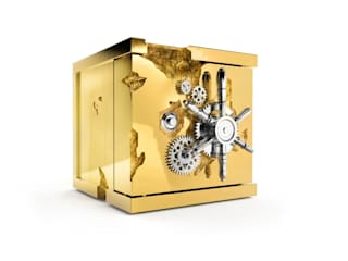 MILLIONAIRE Jewelry Safe By Boca do Lobo por Be-Luxus Moderno