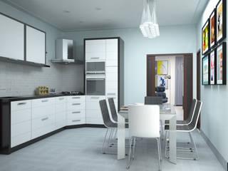 Progetto di Interior Design Cucina moderna di Teresa Lamberti Architetto Moderno