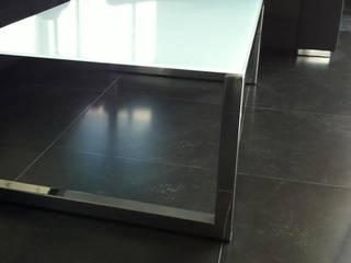 Table en inox:  de style  par Double-M Mathieu Ménard