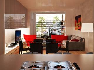Trasformazioni d'interni Cucina moderna di VILLEINBIOEDILIZIA Moderno