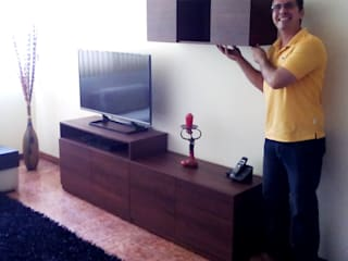 Grupo Creativo DF, C.A. Living roomTV stands & cabinets MDF Wood effect
