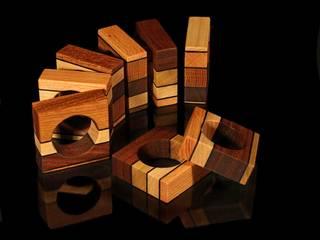"""Serviettenring """"Timber"""":   von Holzverliebt"""