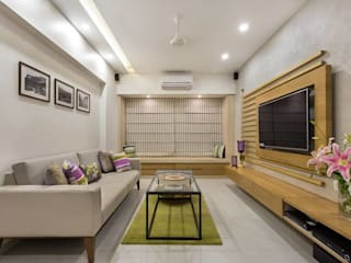 JANKI KUTIR APARTMENT The design house Modern living room