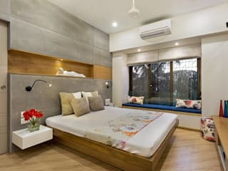 JANKI KUTIR APARTMENT:  Bedroom by The design house