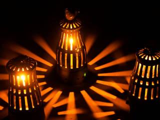 陶の灯り: 陶房 山本真郎が手掛けた折衷的なです。,オリジナル