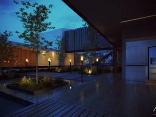 Jardines de estilo minimalista de 21arquitectos Minimalista