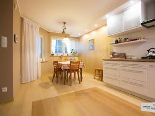 غرفة السفرة تنفيذ Tektura Studio Katarzyna Denst, حداثي