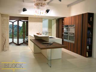 block il futuro è ora Sabattini Cucine Cucina moderna Legno Bianco