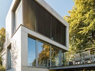 Sichtbetonfassade Ausgefallene Häuser von Betont - Design aus Beton Ausgefallen