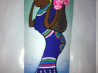 Negras en tejas:  de estilo  por El Rincon del Artesano