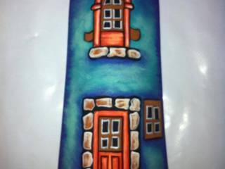 Motivos en Tejas:  de estilo  por El Rincon del Artesano