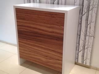 Zebrano Wood Dresser: modern  by Hide and Stitch, Modern