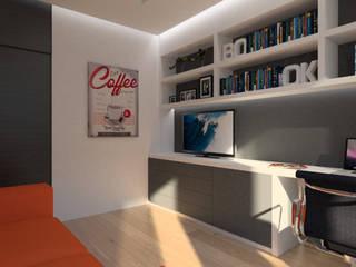 Study/office by Symbioses - Design & Construção