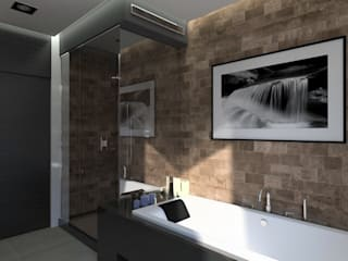 Bathroom by Symbioses - Design & Construção