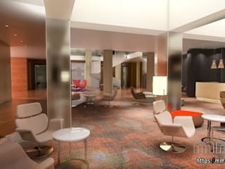 Eclectic style hotels by mm-3d Eclectic