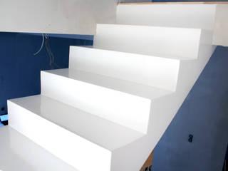 Modern corridor, hallway & stairs by FotoFloor Modern