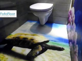 Baños de estilo moderno de FotoFloor Moderno