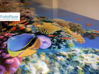 Podłoga 3D w przedszkolu od FotoFloor Nowoczesny
