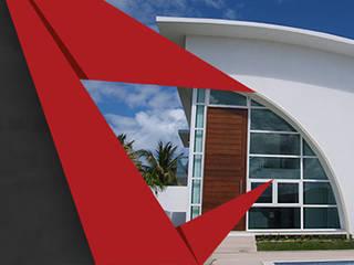CAPA Casas modernas por CHASTINET ARQUITETURA URBANISMO ENGENHARIA LTDA Moderno