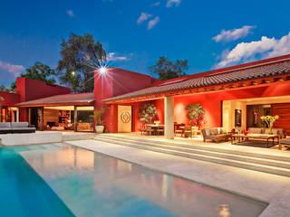 Casa las Moras Albercas modernas de Lopez Duplan Arquitectos Moderno