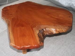 天然座卓(欅材): 坂本銘木店  木彩が手掛けたです。