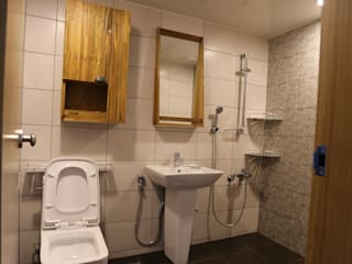 반지대동 그린파크 인더스트리얼 욕실 by 디자인세븐 인더스트리얼